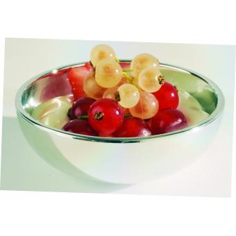 mini saladier argenté par 50