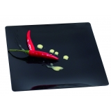 assiette fluid noire 160x160 par 10