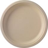 assiette bagasse marron Ø 26 cm 10x50