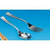 mini fourchette argentée par 100