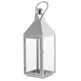 lanterne Théa d'extérieur argenté