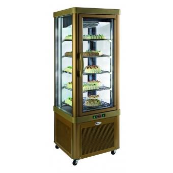 vitrine réfrigérée 5 niveaux fixes