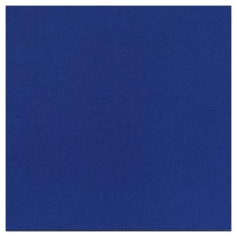 Serviette cocktail unie bleu foncé