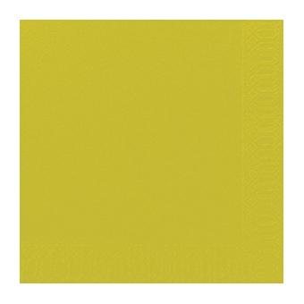 Serviette unie kiwi