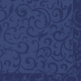Serviette sarala bleu foncé