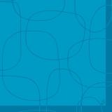 Serviette grinda bleu pacific