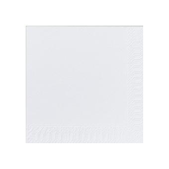 Serviette unie blanche