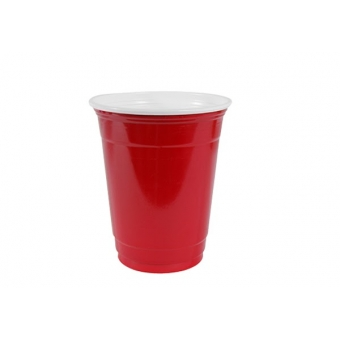 "Gobelet ""party cups"" rouge 30 cl"