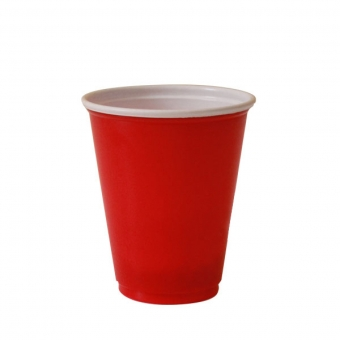 "Gobelet ""party cups"" rouge 36 cl"
