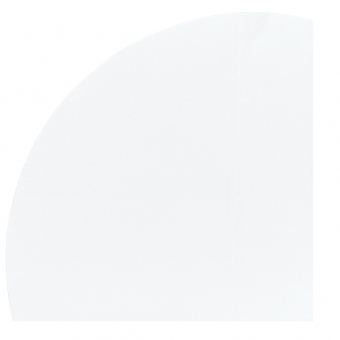 nappage ø 2,40 m uni blanc rond