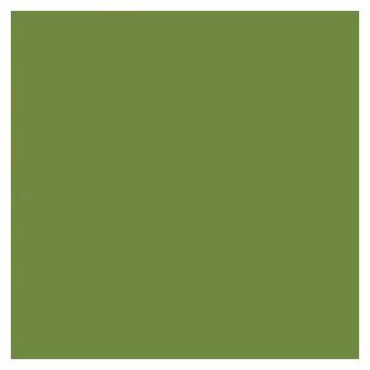 Serviette Dunisoft unie vert feuille