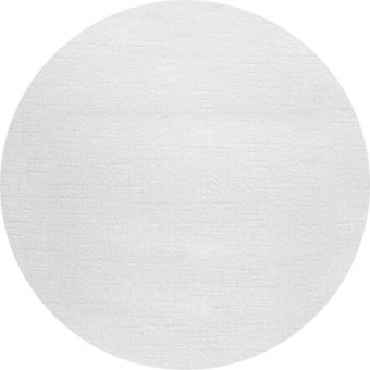 Nappage ø 1,80 m uni blanc rond