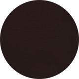 Nappage ø 1,80 m uni noir rond